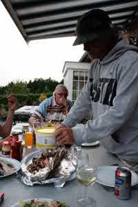 vissen seizoen in les doyards